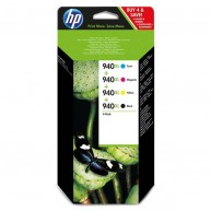 Tusz HP 940XL CMYK [3x1400, 1x2200 str.]