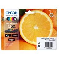 Tusz Epson XP-530 T33XL CMYK [3x8,9ml 1x8,1ml]