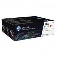 Toner HP CLJ M351/M451/M375 305A CMY 3pak