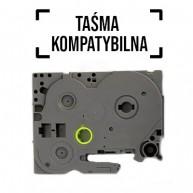 Taśma zamienna do Brother TZ-241 cz/b 18mm/8m