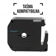 Taśma zamienna do P-Touch MK-121 cz/prz 9mm/8m