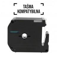 Taśma zamienna do P-Touch MK-521 cz/n 9mm/8m
