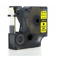 Taśma zamienna do Dymo D1 45018 cz/ż 12mm/7m