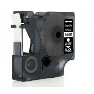 Taśma zamienna do Dymo D1 45021 b/cz 12mm/7m