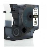 Taśma zamienna do Dymo D1 45803 cz/b 19mm/7m