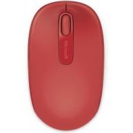 Mysz bezprzewodowa Microsoft 1850 Czerwona
